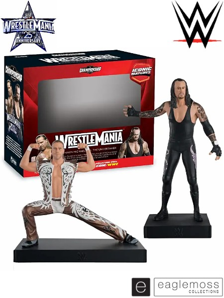 Eaglemoss WWE Collection WrestleMania 25 Double Pack