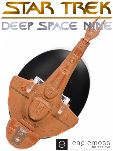 Eaglemoss Star Trek Deep Space 9 Cardassian Galor Class Ship