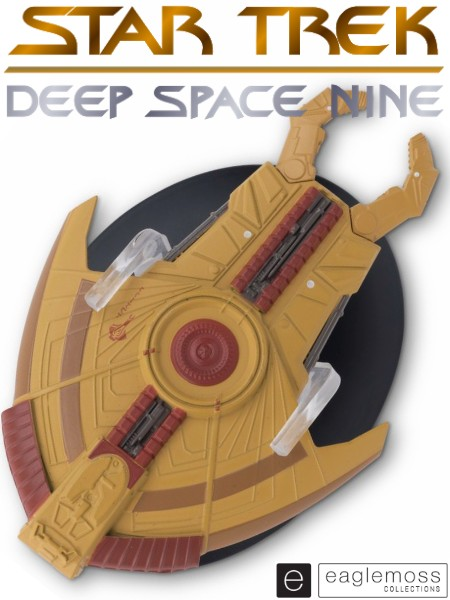 Eaglemoss Star Trek Deep Space 9 Cardassian Hideki Class Ship