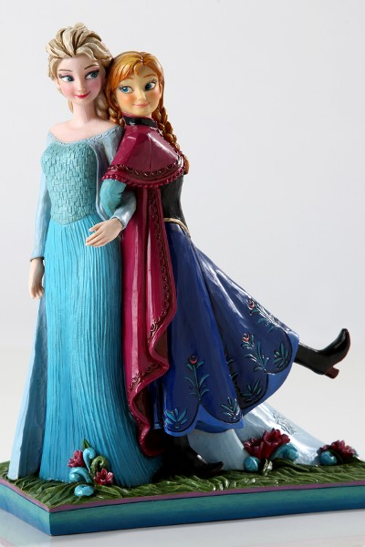 Disney Traditions Frozen Anna and Elsa Sisters Forever Statue