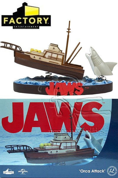 Factory Entertainment Jaws Orca Attack Shakems Premium Statue