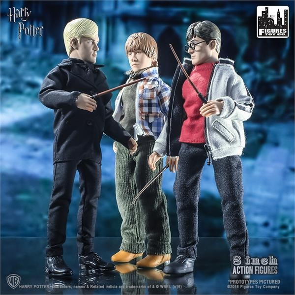 Figures Toy Company Harry Potter Series 1 Action Figure Set of 3