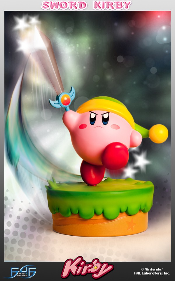 First 4 Figures Nintendo Kirby Sword Kirby Polystone Statue