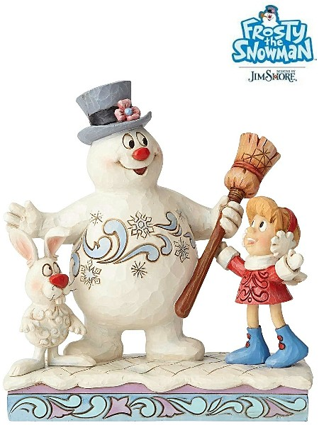 Frosty the Snowman by Jim Shore Frosty Karen Hocus Pocus Statue