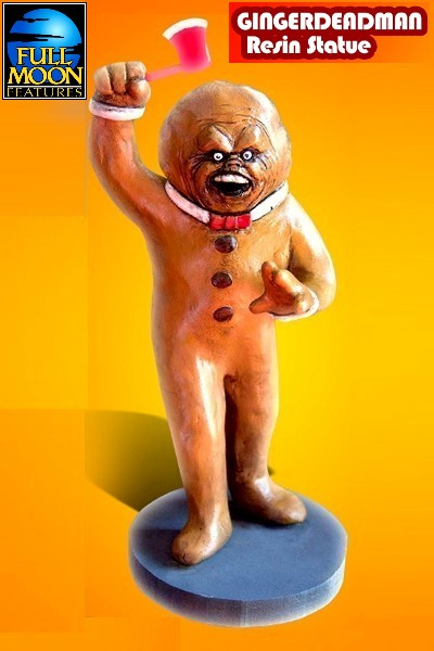 Full Moon Collectibles Gingerdead Man Resin Statue