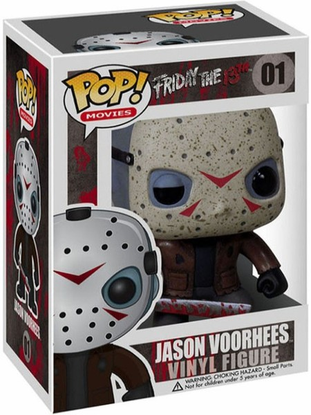 Funko POP #01 Movies Friday the 13th Jason Voorhees Figure