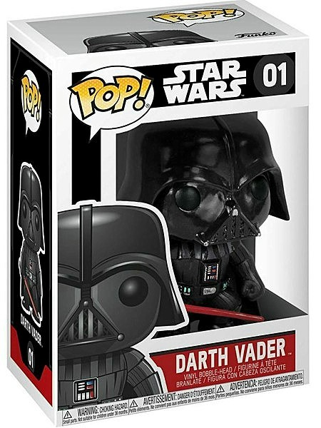 Funko POP #01 Star Wars Darth Vader Bobble Head Figure