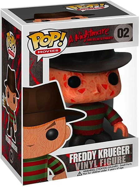 Funko POP #02 Nightmare on Elm Street Freddy Krueger Figure