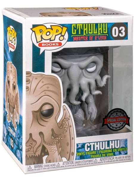 Funko POP #03 Cthulhu Black and White Exclusive Figure