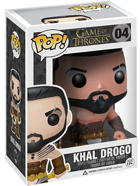 Funko POP #04 Game of Thrones Khal Drogo Figure
