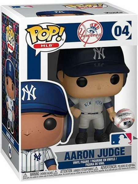 Funko POP #04 MLB Yankees Aaron Judge Road Jersey Figure