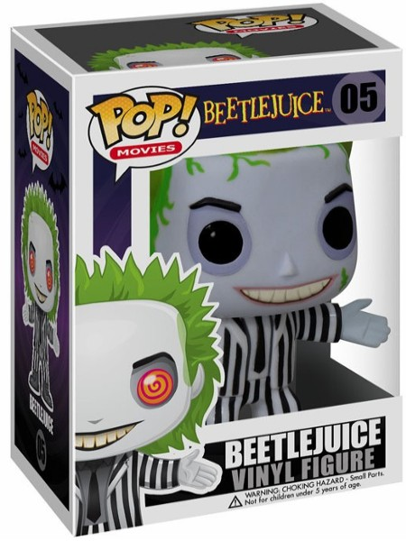 Funko POP #05 Movies Beetlejuice - Beetlejuice Figure