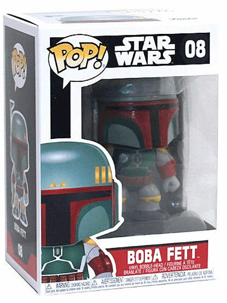 Funko POP #08 Star Wars Boba Fett Figure
