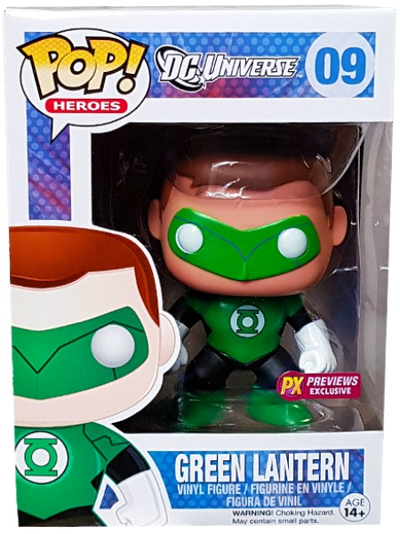 Funko POP #09 DC Universe Green Lantern PX Exclusive Figure