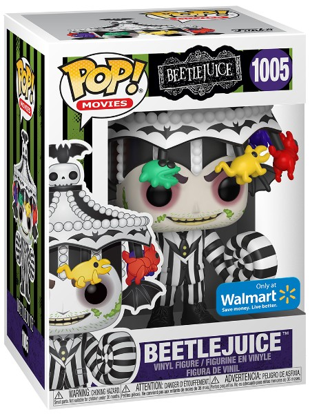 Funko POP #1005 Beetlejuice with Carousel Hat Exclusive