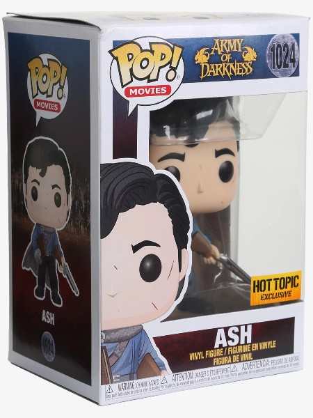 Funko POP #1024 Army of Darkness Ash Exclusive Figure