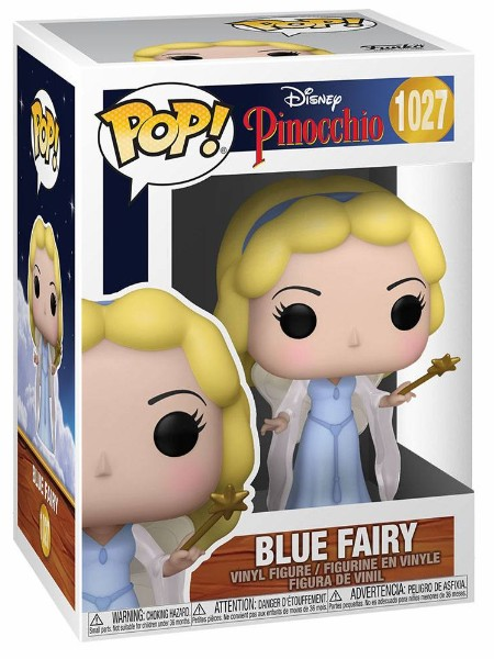 Funko POP #1027 Disney Pinocchio 80th Blue Fairy Figure