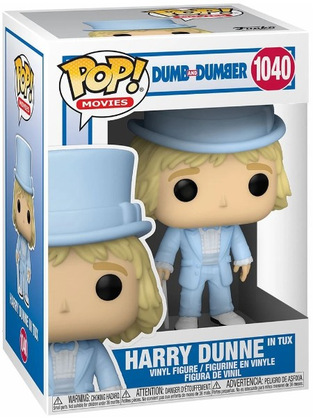 Funko POP #1040 Dumb and Dumber Harry in Tuxedo Figure