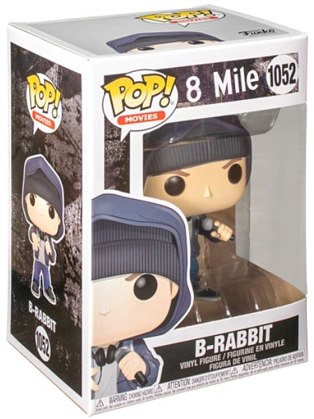 Funko POP #1052 Movies 8 Mile Eminem as B-Rabbit Figure