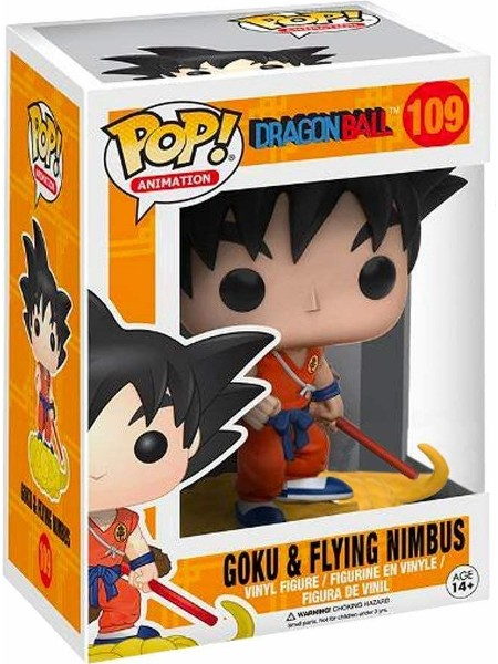 Funko POP #109 Dragonball Goku & Flying Nimbus Exclusive Figure