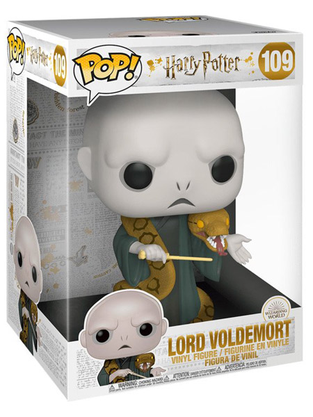 Funko POP #109 Harry Potter Lord Voldemort 10 Inch Figure