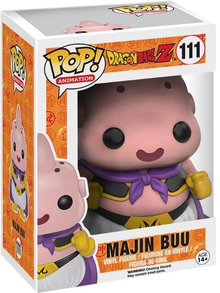 Funko POP #111 Dragon Ball Z Majin Buu Figure