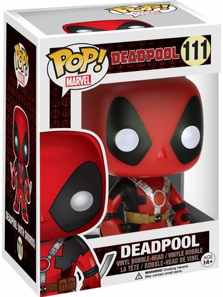 Funko POP #111 Marvel Deadpool Two Swords Figure