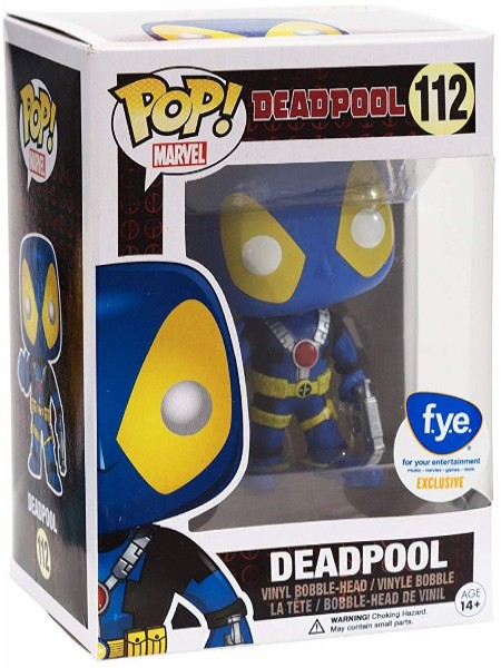 Funko POP #112 Marvel Deadpool X-Men Thumbs Up Exclusive Figure