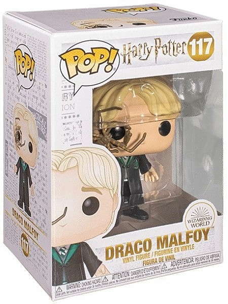 Funko POP #117 Harry Potter Draco Malfoy with Spider Figure
