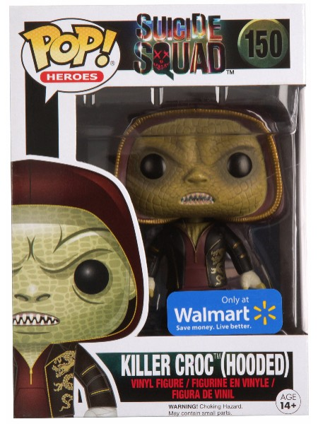 Funko POP #150 Suicide Squad Killer Croc Hooded Exclusive