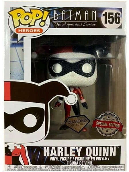 Funko POP #156 Batman Animated Diamond Harley Quinn Exclusive