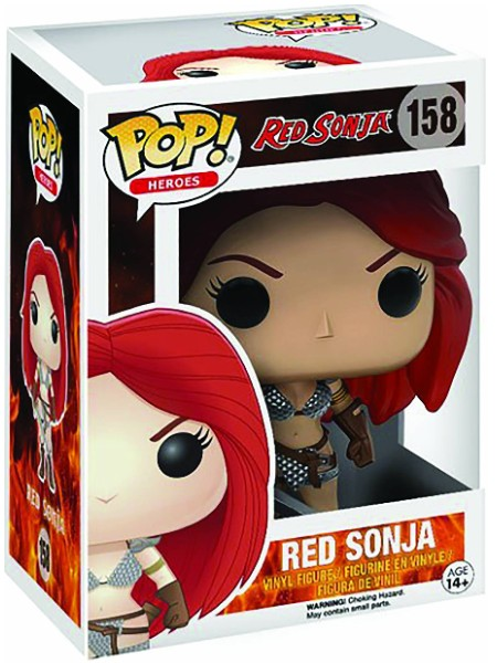 Funko POP #158 Heroes Red Sonja Figure