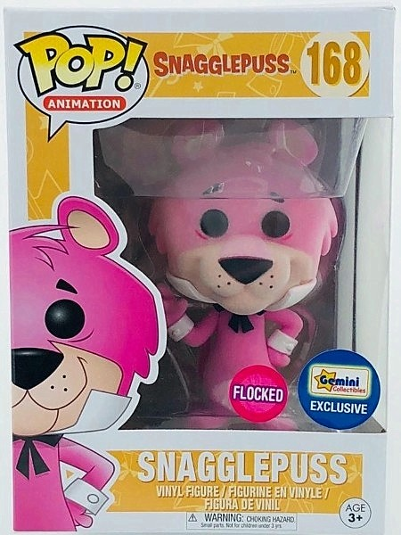 Funko POP #168 Animation Snagglepuss Flocked Exclusive