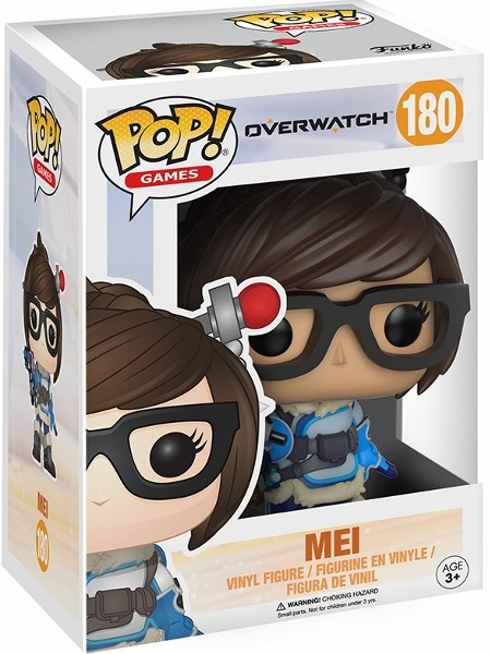 Funko POP #180 Games Overwatch Mei Figure