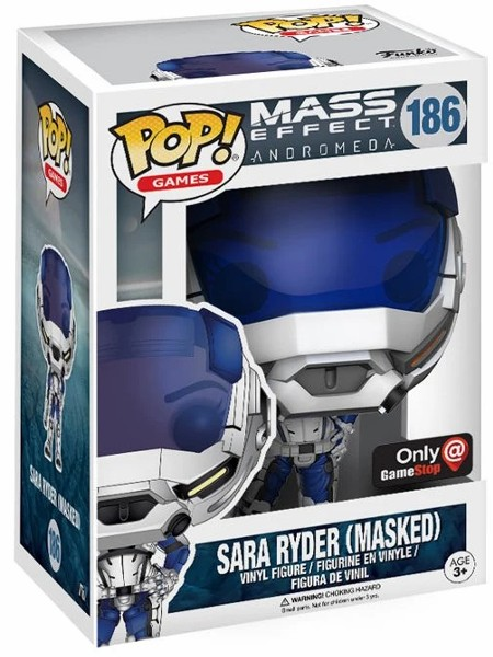 Funko POP #186 Mass Effect Sara Ryder Masked Exclusive