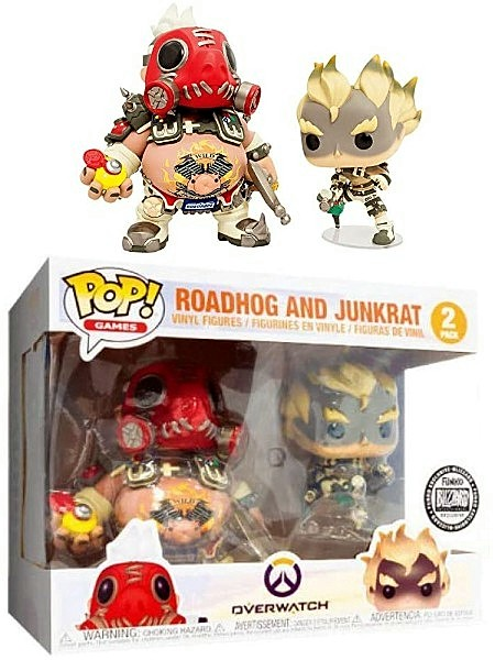 Funko POP Games Overwatch Roadhog & Junkrat Exclusive