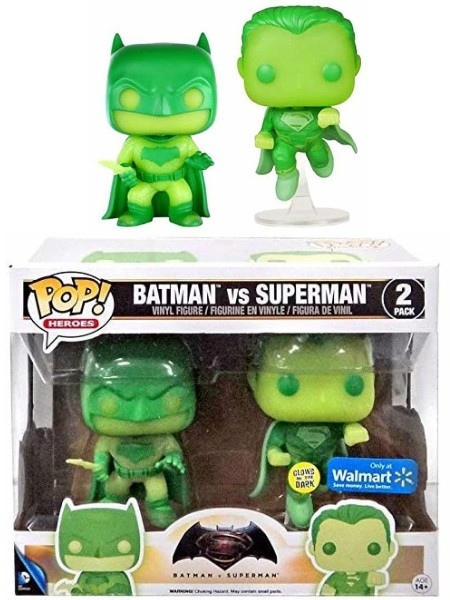 Funko POP Dawn of Justice Batman vs Superman Glow Exclusive