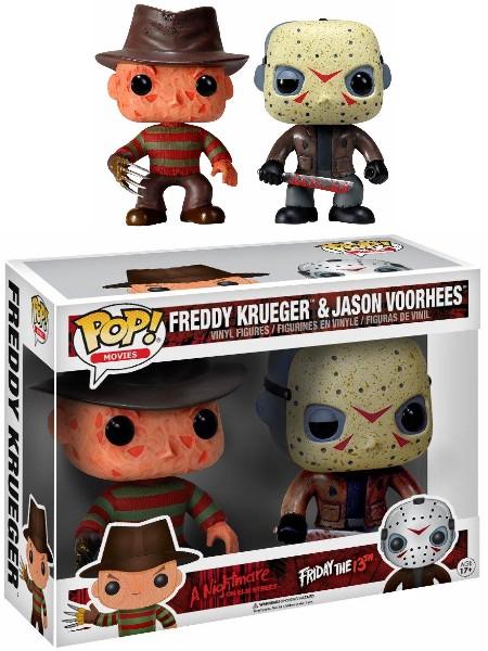 a Nightmare on Elm Street-Freddy Krueger Funko Pop Jason Voorhees 2 egli Pack