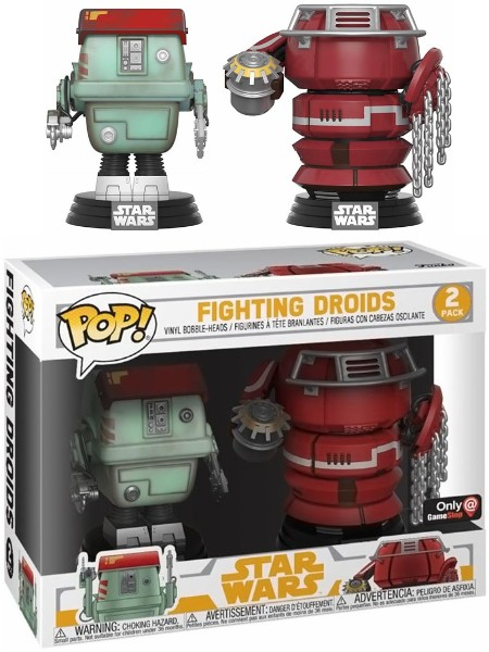 Funko POP Star Wars Solo Fighting Droids Exclusive 2 Pack