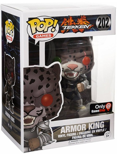 Funko POP #202 Games Tekken Armor King Exclusive