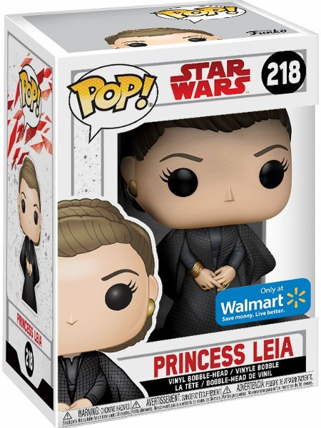 Funko POP #218 Star Wars The Last Jedi Princess Leia Exclusive