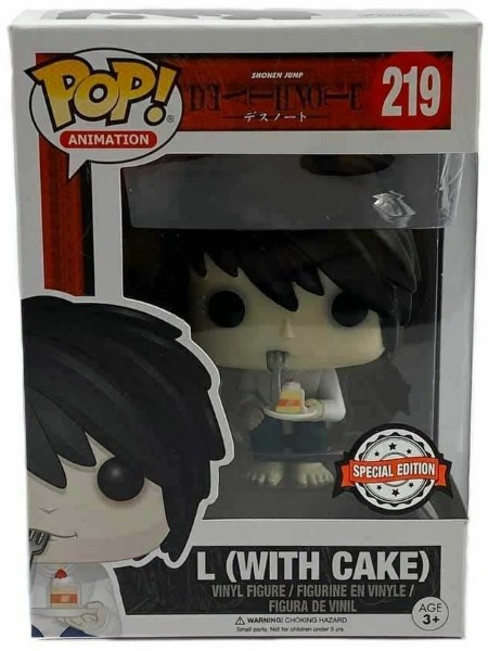 Funko POP #219 Animation Death Note L with Cake Exclusive