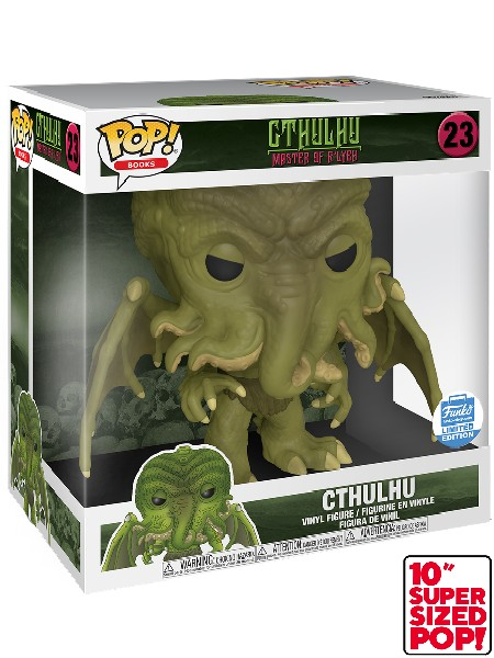 Funko POP #23 Books Cthulhu 10 Inch Exclusive Figure