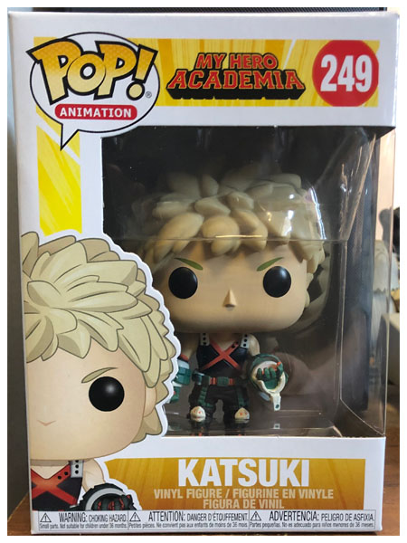 Funko POP #249 My Hero Academia Katsuki Bakugo Figure