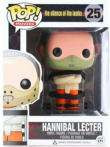 Funko POP #25 Silence of the Lambs Hannibal Lecter Figure