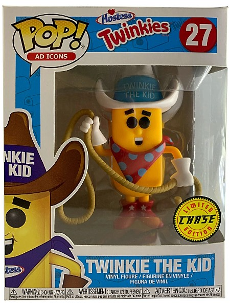 Funko POP #27 Ad Icons Hostess Twinkie the Kid Chase Figure