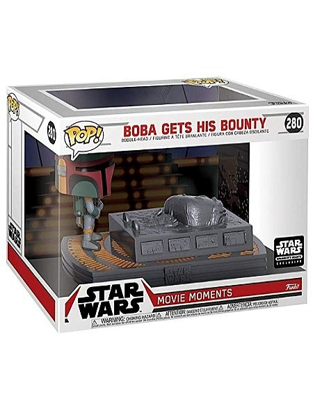 Funko POP #280 Star Wars Boba Gets His Bounty Movie Moments