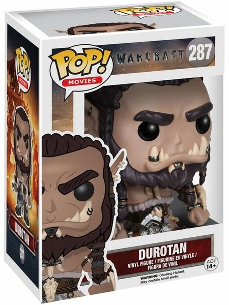 Funko POP #287 Movies Warcraft Durotan Figure