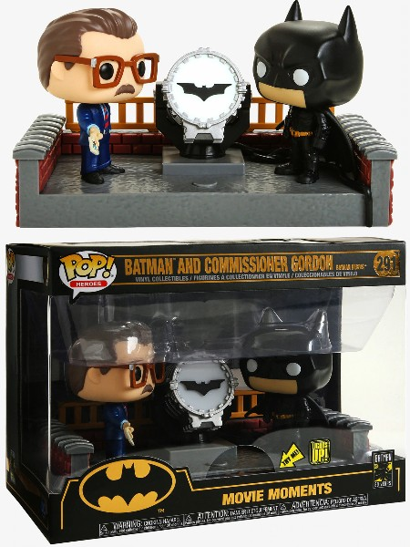 Funko POP #291 Batman and Commissioner Gordon Movie Moments