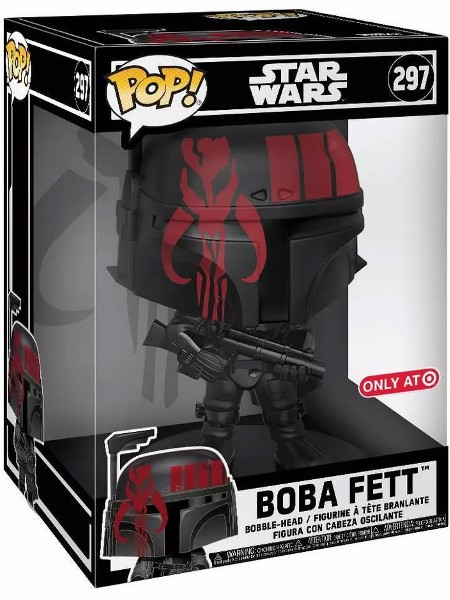 Funko POP #297 Star Wars Boba Fett Futura 10 Inch Exclusive